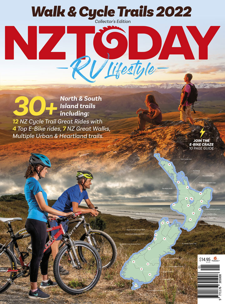 SPECIAL NZToday-RV Lifestyle Walk & Cycle Trails 'Collector Edition' 2022